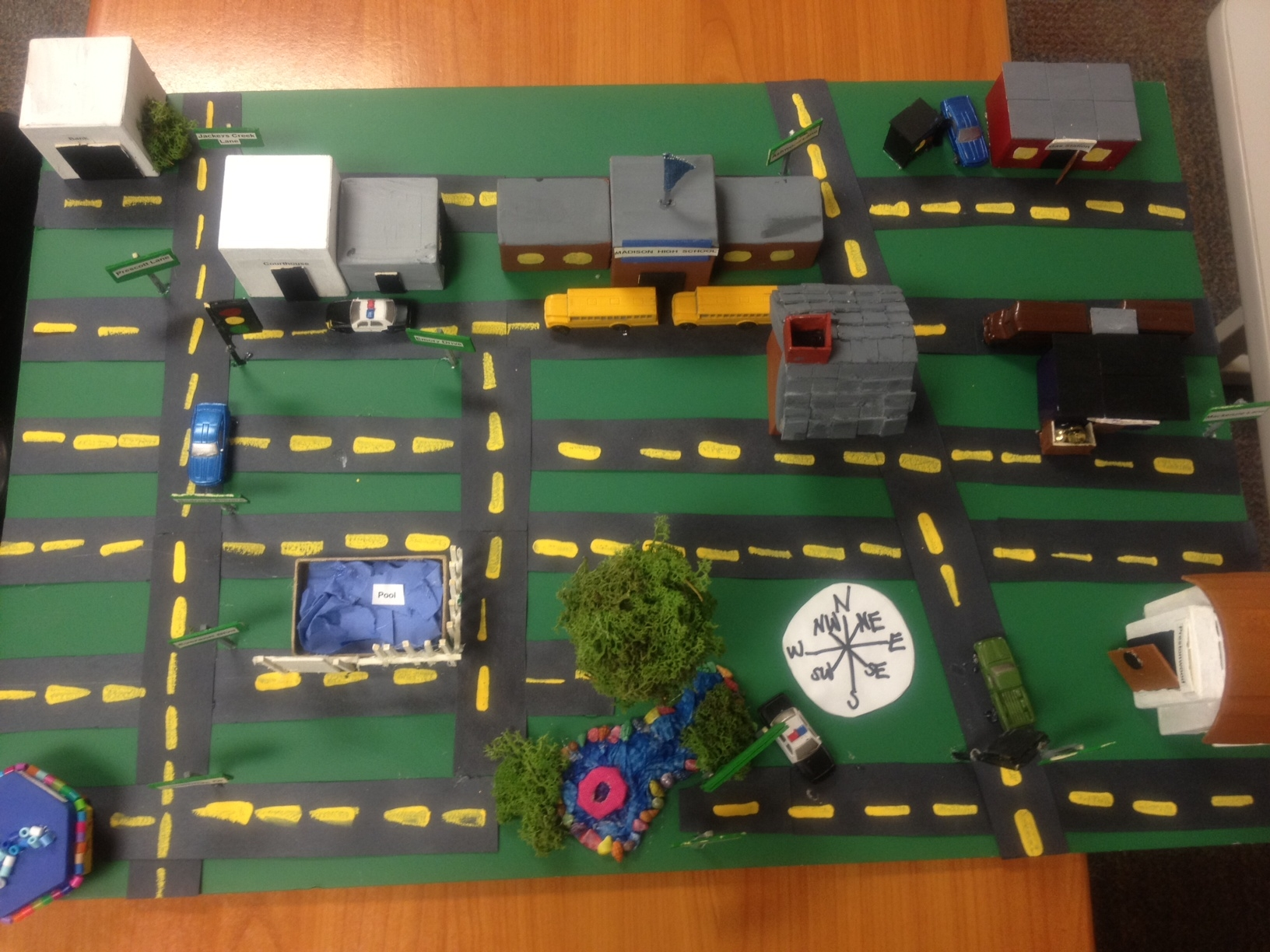 geometry city project By ms jess geo city, short for geometry city, was a semester-long experiential math project for the lower elementary students the requisites focused on design, planning and geometry it was fundamentally the layout of a city and observation of geometry in architecture it was applied math, and it was fun.